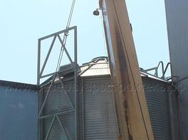 grain silo erection