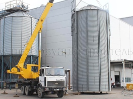 grain silo installation