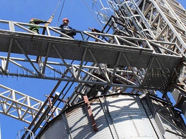 grai storage silo installation