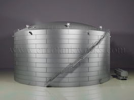 Vertical 20000 m³ cylindrical steel tank