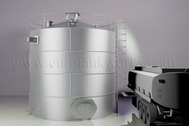 Large above-ground storage tanks (AST), On-site fuel tanks